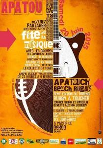 Fete de la musique à APATOU 2015