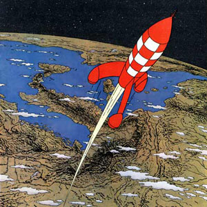 Voyage en microfusée #2 ::: Rocket on the beach