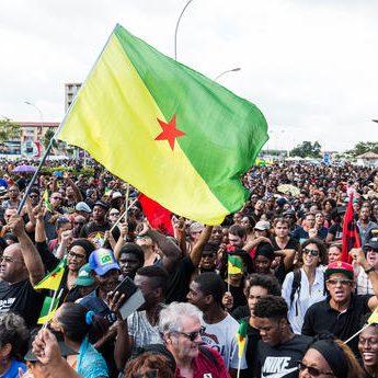 Lagwiyann lévé ::: Manifestation historique en Guyane